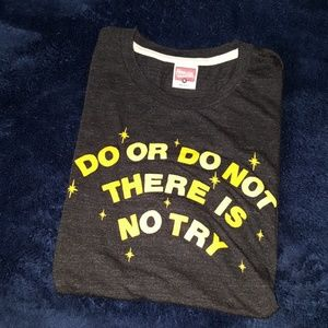 HOMAGE Do or Do Not There is No Try tee NEW